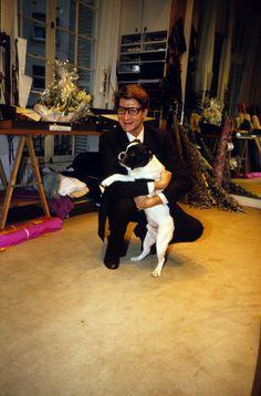 Monsieur et son chien....