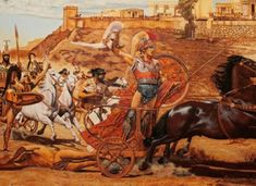 Chariot Racing, Simple Minds, Ancient Greece, Conspiracy, Blog, Painting, Art, Art Background, Painting Art
