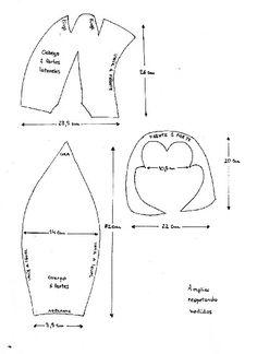 Moldes para hacer gorros de goma espuma - Imagui 3b9e62cadb7