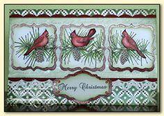Heartfelt Creations Christmas Card