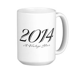 A Vintage year 2014 mug