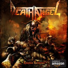 Relentless Retribution is the sixth studio album by American thrash metal band, Death Angel. The album was released September . Power Metal, Angel Of Death, Thrash Metal, Hard Rock, Dimmu Borgir, Shops, Types Of Music, Relentless, Death Metal