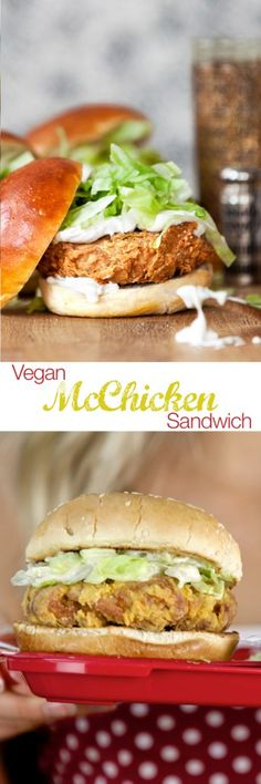 Vegan McChicken Sandwich recipe