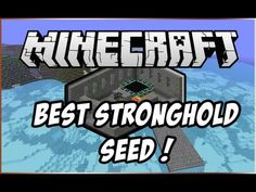 Minecraft Seed Spotlight - Best Stronghold Seed 1.6.2! #minecraft #seed #play…