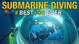 BEST JOB EVER Submarine Diving in Deep-Sea Galápagos What's it like to submarine dive a thousand feet underwater to an unexplored region of the Galápagos Islands?