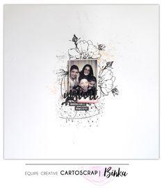 "Thème de Février ""J'aime !"" par Binka - Blog Cartoscrap"