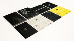 D&AD Awards Ceremony 2015 Print design  Alex Thursby-Pelham