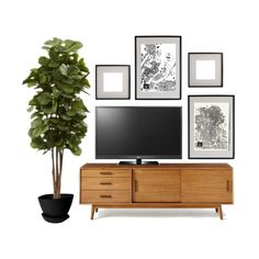 Home Renovation Wall West Elm Mid Century Console Styled Living Room Tv, Living Room Remodel, Apartment Living, Tv Wall Ideas Living Room, Barn Living, Cozy Living, Living Room Modern, Home And Living, Living Room Designs