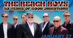 The Beach Boys Bring Good Vibrations to Charleston this January