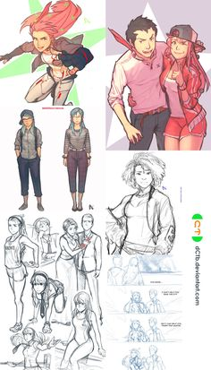 AMP|Sketch Dump 2 by dCTb.deviantart.com on @deviantART