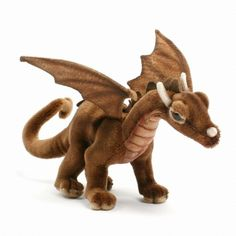 Brown Dragon 5085  http://www.ebay.ca/itm/HANSA-Plush-Brown-Dragon-5085-Realistic-Stuffed-Animal-Portraits-of-Nature-/171392683266?pt=Stuffed_Animals_US&hash=item27e7cccd02