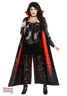 Stand by the side of Dracula or look fierce on your own in our Women's Goth Vampiress Costume. Scared Of The Dark, Fear Of The Dark, Vampire Costumes, Scary Halloween Costumes, Halloween Kostüm, Creatures Of The Night, Hair Loss Remedies, Hair Restoration, Satin Material