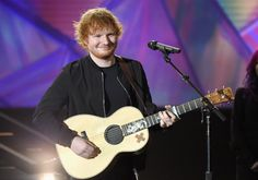 LOS ANGELES, CA - NOVEMBER 18: Recording artist Ed Sheeran performs onstage at A E Networks 'Shining A Light' concert at The Shrine Auditorium on November 18, 2015 in Los Angeles, California. (Photo by Kevin Mazur/Getty Images for A E Networks) via @AOL_Lifestyle