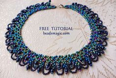 NEW! Free pattern for necklace Musk