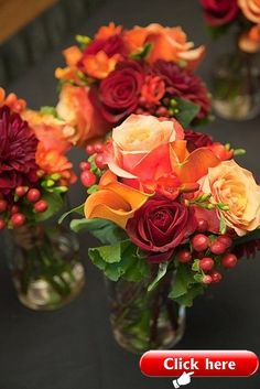 Ideas For Wedding Centerpieces Simple Fall Floral Arrangements Fall Wedding Centerpieces, Succulent Centerpieces, Floral Centerpieces, Wedding Decorations, Fall Wedding Bouquets, Fall Flowers For Weddings, Fall Wedding Table Decor, Autumn Weddings, Fall Bouquets