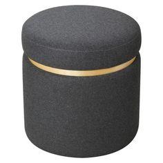 Room Essentials™ Storage Ottoman -  Grey