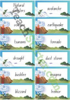 vocabulary on different topics pdf