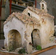 Clay Houses, Ceramic Houses, Miniature Houses, Beaded Christmas Ornaments, Christmas Nativity, Christmas In Italy, Mexican American War, Pottery Houses, Stone Masonry