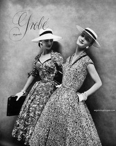 Love the hats - Evelyn Tripp