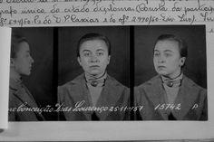 Nascida em 1937 em Vila Franca de Xira, de origem operária, Ivone Dias Lourenço foi membro do PCP desde 1953, participou no MUD na década de 50. Trabalhou na clandestinidade desde 1956, passou sete anos nas prisões do regime fascista. Portugal, Photo by the political police of the fascist regimen, PIDE
