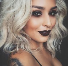 Gorgeous Makeup: Tips and Tricks With Eye Makeup and Eyeshadow – Makeup Design Ideas Gorgeous Makeup, Love Makeup, Makeup Tips, Beauty Makeup, Hair Beauty, Edgy Makeup, Dark Makeup Looks, Awesome Makeup, Awesome Hair