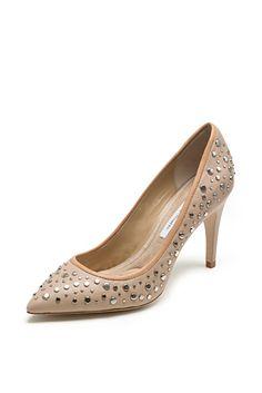 Diane Von Furstenberg heels.