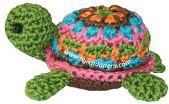 Cómo tejer una tortuga a crochet (amigurumi turtle)
