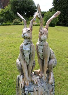 repeating rabbits arts and craft pottery - Google Search