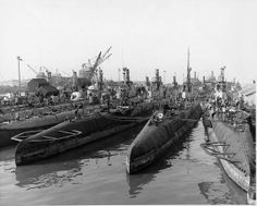 US Submarines at Mare Island 14th Dec 1945 | Flickr - Photo Sharing!