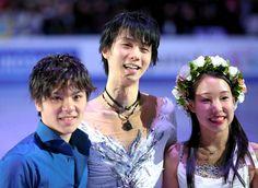 五輪へ、羽生「隙ないスケートを」 宇野「負けを糧に」:朝日新聞デジタル