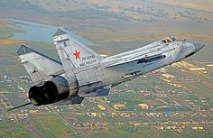 Russian Air Force MiG-31.