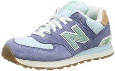lowest price d69c6 a56c5 New Balance Damen Sneakers, Mehrfarbig (Blue Green), EU