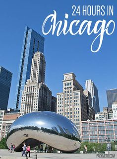 24 Hours in Chicago - An Itinerary Usa Travel Guide, Travel Usa, Travel Guides, Travel Tips, Cool Places To Visit, Places To Go, Chicago Travel, Chicago Trip, Adventures Abroad