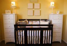 Inspiratie voor gele babykamer