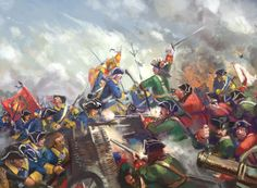 Combat between Swedish and Russian Army, Great Northern War