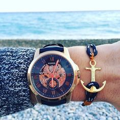 Tom Hope Anchor Bracelet Fossil Watch