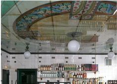 Painted glass ceiling, Anahi, Paris