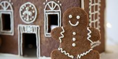 Grain-Free Gingerbread Men & Gingerbread House (Paleo)
