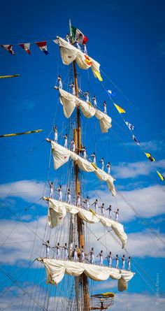Tall Ships Races in #Helsinki #Finland #Finnland A travel board about Helsinki Finland. Includes things to do in Helsinki, Helsinki nightlife, Helsinkik food, Helsinki tips and much more about what to do during holidays in Helsinki Finland. -- Have a look at http://www.travelerguides.net