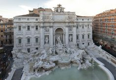 The Trevi Fountain returns to its original splendor thanks to the Fendi for Fountains project for the preservation of the cultural heritage of Rome.