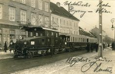 Bratislava, Commercial Vehicle, Old City, Bergen, Electric Locomotive, Nostalgia, Vehicles, Trains, Old Town