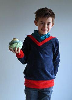 NaaiSGerief: Origami eens een sweater(jurk), da's wat anders dan een kraan- en andere vogels!