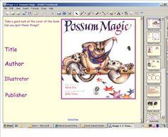 Possum Magic Education English, Teaching English, Learn English, Talk 4 Writing, Possum Magic, Australia Crafts, Australian Authors, Math Groups, Author Studies