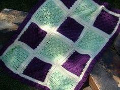 Popcorn Baby Blanket | AllFreeCrochet.com