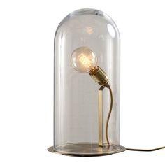 """Дизайнерская лампа выполнена в виде колпака из превосходного цветного стекла на металлическом основании. Цвета стекла: Золотой, Сапфир, Бронзовый Цвета металла"""" Бронза, Сталь             Материал: Металл, Стекло.              Бренд: NAF-NAF House.              Стили: Лофт.              Цвета: Светло-серый."""