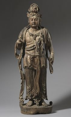 Bodhisattva, Standing Figure, 13th Century China, Jin dynasty (1115-1234)