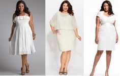 Plus size white club dresses – white dresses make women look fresh and natural, and white dresses are not the wrong choice to be chosen as clubbing dress Lace Summer Dresses, Trendy Dresses, Cute Dresses, Fashion Dresses, White Plus Size Dresses, Plus Size Club Dresses, White Cocktail Dress, White Dress, Plus Size Nightclub Dresses