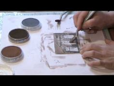 How to use Metallic Pan Pastels and create Faux metal effects by Nikky Hall, Polkadoodles - YouTube