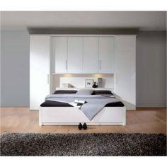 Lit pont horizont 7500 Bedroom Closet Design, Small Room Bedroom, Spare Room, Small Rooms, Home Bedroom, Interior Design Living Room, Master Bedroom, Bedroom Decor, Design Interior