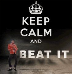 Animated gif   KEEP CALM and BEAT IT